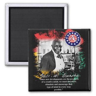 george washington carver 2 inch square magnet