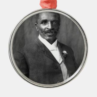George Washington Carver scientist botanist Metal Ornament