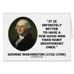 George Washington cita de algunos buena hombres