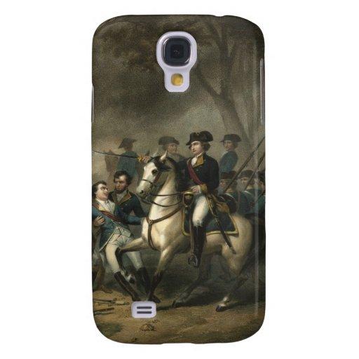 George Washington como caso del iPhone 3 del solda Funda Para Galaxy S4