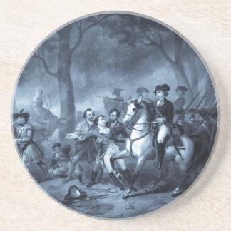 George Washington como práctico de costa del solda Posavasos Para Bebidas