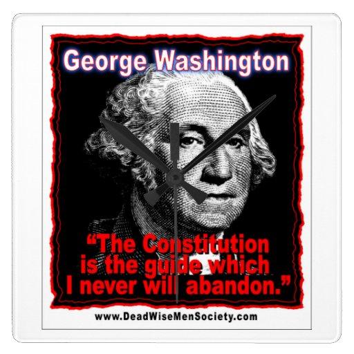 George Washington Constitution Quotes