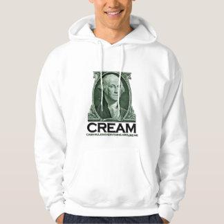 George Washington CREAM Hooded Pullover