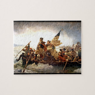 George Washington Crossing Delaware Jigsaw Puzzle