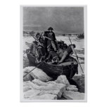 George Washington crossing the Delaware River Print