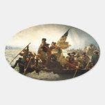George Washington Crossing the Delaware Sticker