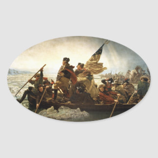 George Washington Crossing the Delaware Sticker