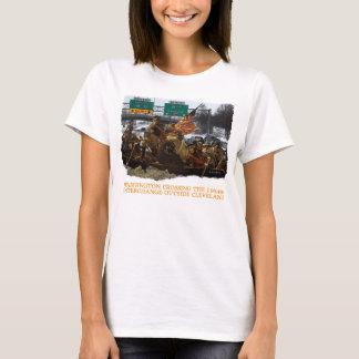George Washington Crossing the I-490 Cleveland T-Shirt