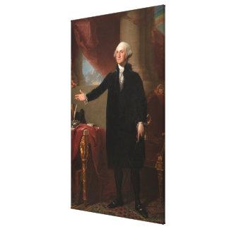 GEORGE WASHINGTON de Gilbert Estuardo (Lansdowne) Impresion En Lona