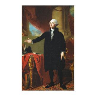 George Washington de Gilbert Estuardo Lona Estirada Galerias