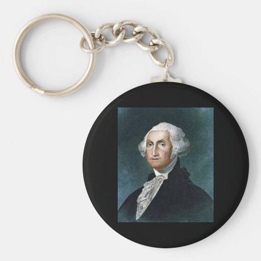 George Washington de James Barton Longacre Llavero Personalizado