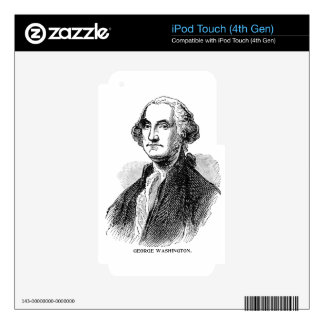 George Washington Decal For iPod Touch 4G