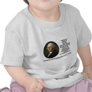 George Washington Destiny Human Nature Quote Shirts