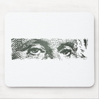 George Washington Dollar Bill Cash Money Mouse Pad