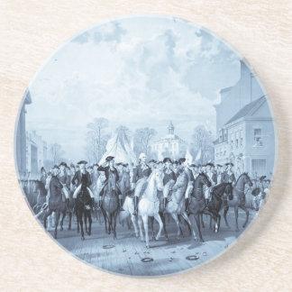 George Washington en el práctico de costa de Nueva Posavasos Personalizados