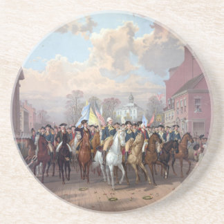 George Washington en el práctico de costa de Nueva Posavasos Diseño
