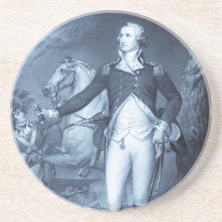 George Washington en el práctico de costa de Trent Posavasos Manualidades