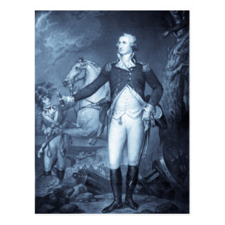 George Washington en las postales de Trenton