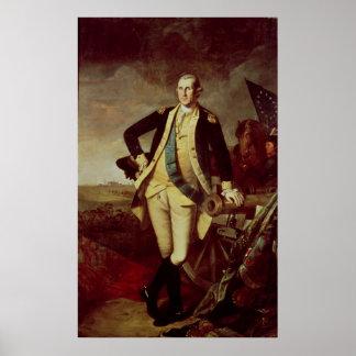 George Washington en Princeton, 1779 Poster
