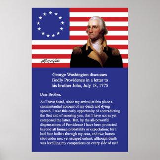 George Washington en Providence Póster