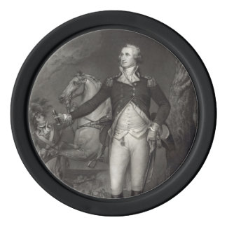George Washington en Trenton Fichas De Póquer