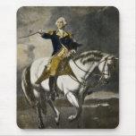 George Washington en Trenton Mouse Pad