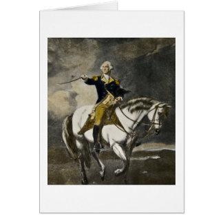 George Washington en Trenton Tarjeta De Felicitación