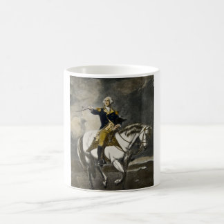 George Washington en Trenton Tazas De Café