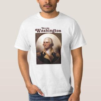 George Washington en uniforme militar Remera