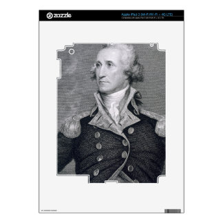 George Washington, engraved by Asher Brown Durand iPad 3 Decal