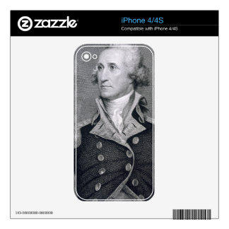George Washington, engraved by Asher Brown Durand iPhone 4 Skin
