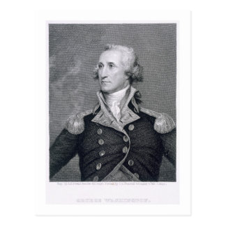 George Washington, engraved by Asher Brown Durand Postcard