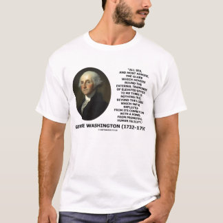 George Washington External Trappings Office Quote T-Shirt