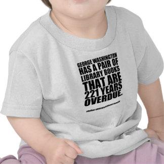 George Washington Fact 190 Tshirts