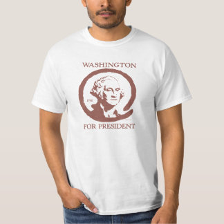George Washington for President T-shirt