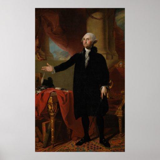 George Washington - Gilbert Estuardo (1797) Impresiones
