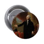 George Washington - Gilbert Estuardo (1797) Pin Redondo 5 Cm