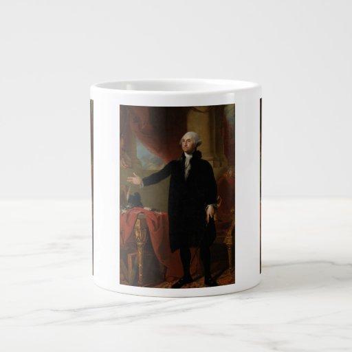 George Washington - Gilbert Estuardo (1797) Taza Grande