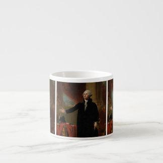 George Washington - Gilbert Stuart (1797) Espresso Cup