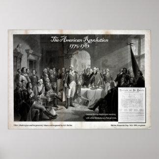 George Washington, guerra revolucionaria Posters