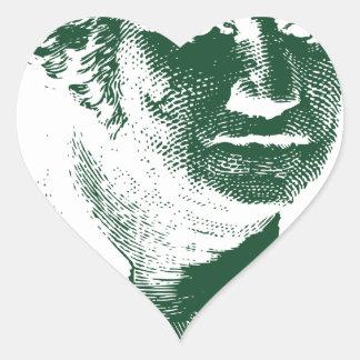 George Washington Heart Sticker