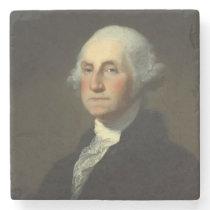 George Washington Historic Portrait Stone Coaster