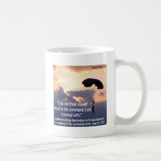 George Washington Honors His Troops Mug