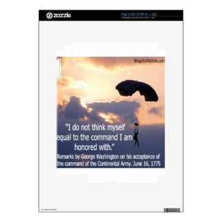 George Washington Honors His Troops Skin For iPad 2
