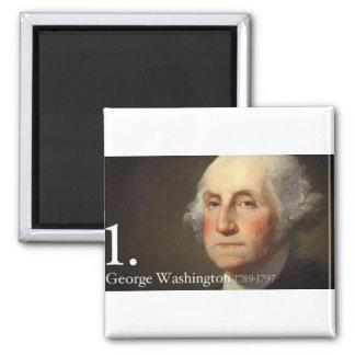 George Washington Imán De Frigorífico