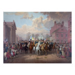 """George Washington in New York"" poster/print Poster"