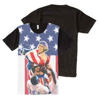 George Washington Independence Day All-Over-Print T-Shirt