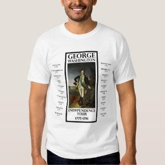 George Washington Independence Tour T Shirt