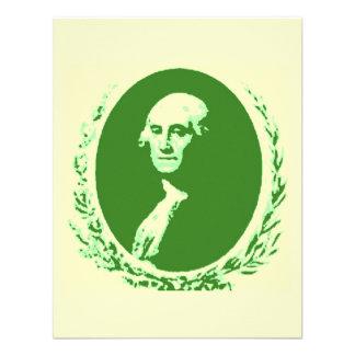 George Washington Custom Announcement
