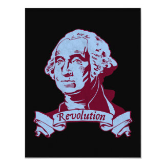 George Washington Personalized Invitation